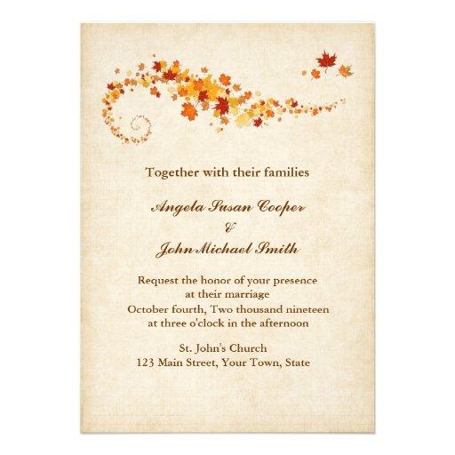 El casarse de las hojas de otoño que remolina anuncio