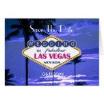 El casarse de Las Vegas - ahorre la fecha Tarjeta Pequeña