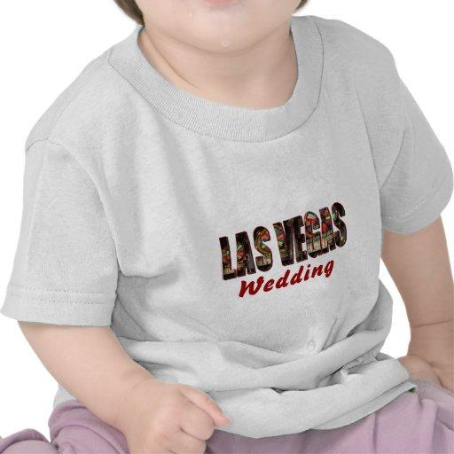 El casarse de Las Vegas Camiseta
