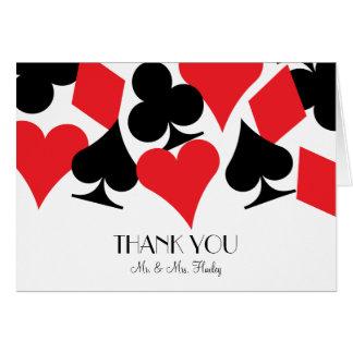 El casarse de Las Vegas del destino le agradece ca Felicitacion