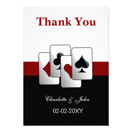 El casarse de Las Vegas le agradece las tarjetas Comunicados