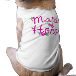El casarse de los brotes del amor ropa de mascota