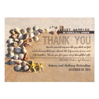 el casarse de los seashells de la playa le agradec anuncios personalizados