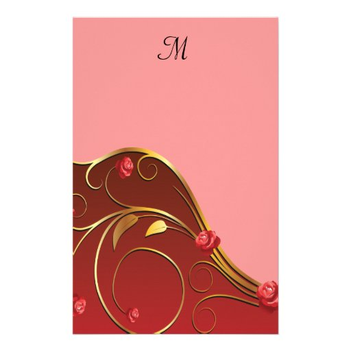 El casarse de oro polvoriento de los remolinos del  papeleria de diseño
