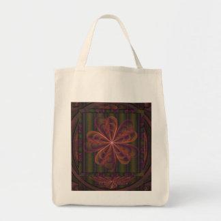 El casarse de seda de las flores bolsa tela para la compra