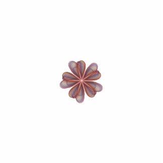 El casarse de seda de las flores adorno fotoescultura