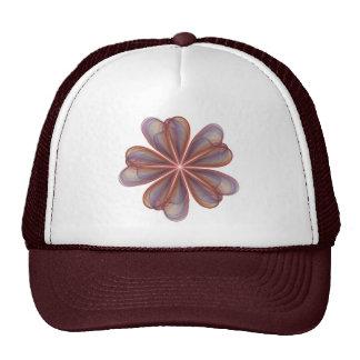 El casarse de seda de las flores gorras