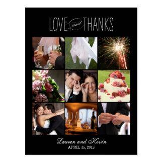 El casarse dulce de las memorias le agradece carda postales