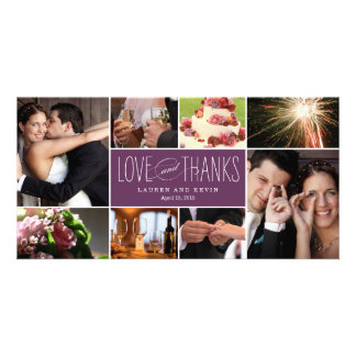 El casarse dulce de las memorias le agradece las t tarjeta personal
