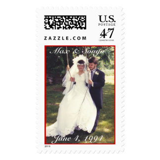 El casarse, el 4 de junio de 1994, máximo y Sonya Estampillas