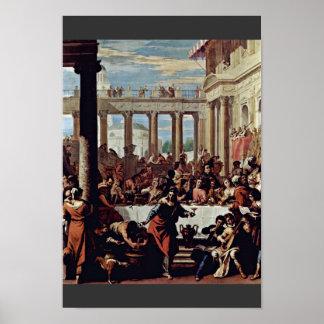 El casarse en Cana de Ricci Sebastiano Póster