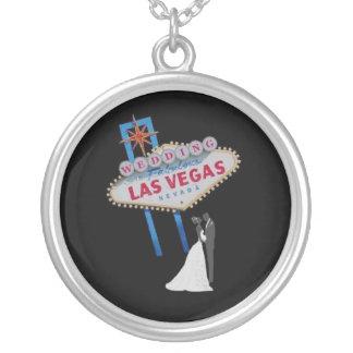 El casarse en el collar fabuloso de Las Vegas
