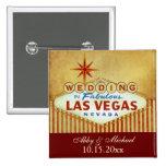 El casarse en Las Vegas fabuloso - rayas del vinta Pins