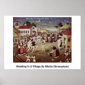 El casarse en un pueblo de Nikola Obrasopissez Poster