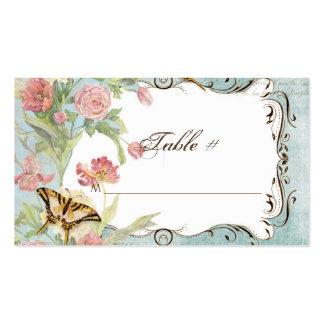 El casarse floral subió Peony de las flores del tu Plantillas De Tarjeta De Negocio