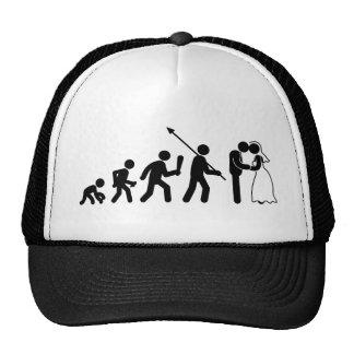 El casarse gorras de camionero