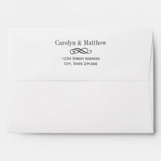 El casarse invita a remite impreso el | de los sob sobres