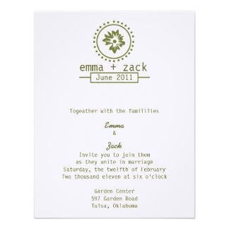El casarse invita invitacion personalizada