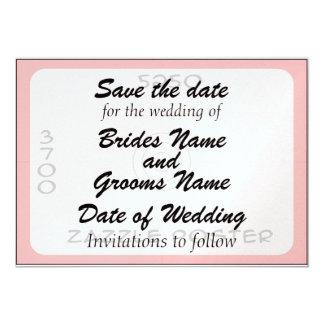 El casarse - invitación