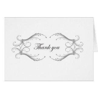 El casarse le agradece cardar tarjeta