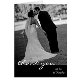 el casarse le agradece cardar tarjeta pequeña
