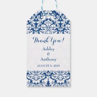 El casarse le agradece favorecer blanco de los etiquetas para regalos