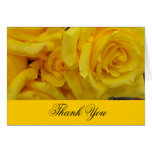 el casarse le agradece las flores del rosa felicitación