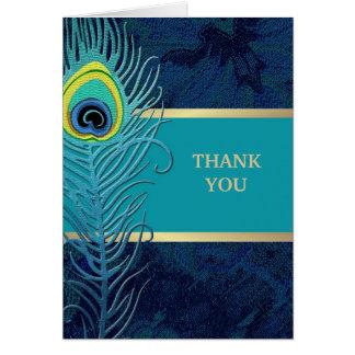 El casarse le agradece las tarjetas adaptables