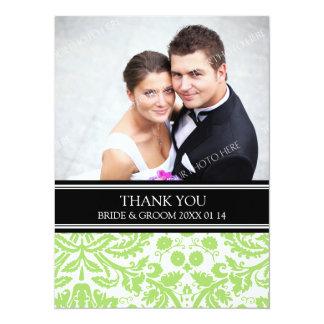 El casarse le agradece negro de la cal de las invitacion personalizada