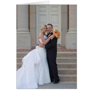 El casarse le agradece observar felicitacion