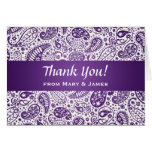 "El casarse ""le agradece"" púrpura del modelo de Pai Tarjeton"