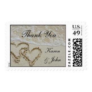 El casarse le agradece sello postal