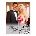 El casarse negro elegante de los remolinos le agra