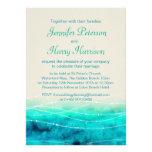 El casarse pintado moderno de los mares de la chis invitaciones personales