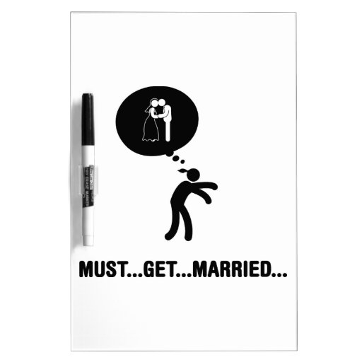 El casarse pizarras