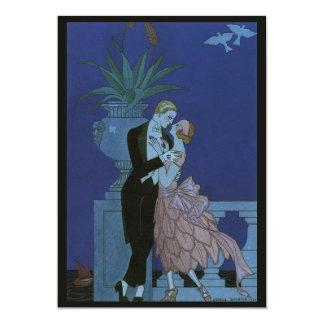 El casarse romántico de los recienes casados del comunicados personalizados