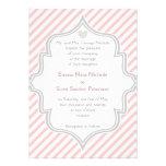 El casarse rosado, blanco, gris elegante de las ra