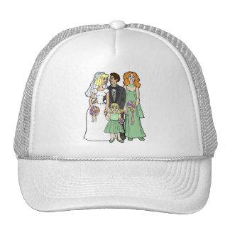 El casarse suministra 37 gorras de camionero