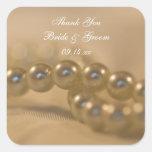 El casarse torcido de las perlas le agradece los colcomanias cuadradass