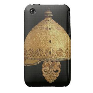 El casco céltico encontró en Agris, Charante, 4to iPhone 3 Case-Mate Cobertura