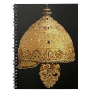 El casco céltico encontró en Agris Charante 4to Libros De Apuntes