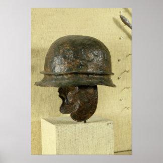 El casco con la mejilla guarda, de Alesia, Tene II Posters