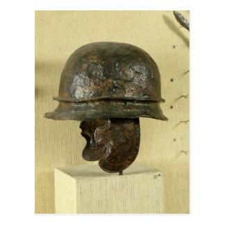 El casco con la mejilla guarda, de Alesia, Tene Tarjeta Postal