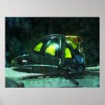 El casco del bombero posters
