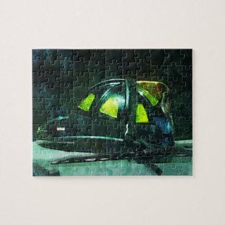 El casco del bombero puzzles