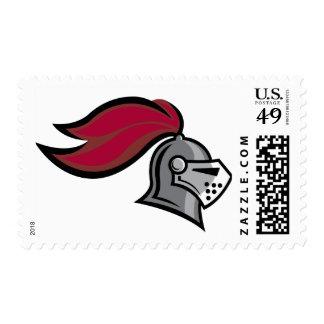 El casco del caballero timbres postales