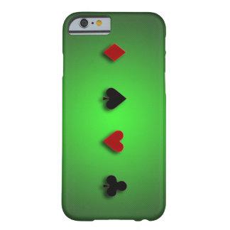 el casino del fondo del póker carda las espadas de funda para iPhone 6 barely there