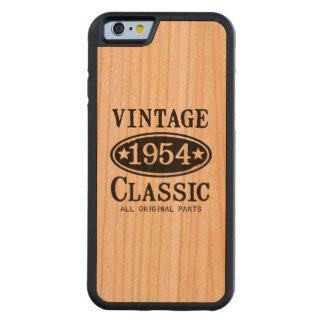 El caso 1954 del iPhone 6 de la obra clásica del Funda De iPhone 6 Bumper Cerezo