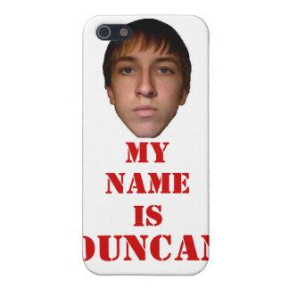 el caso 2010 del iPhone 4, mi nombre es Duncan iPhone 5 Cobertura