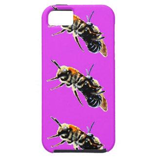 """el caso """"abejas del ambiente del iPhone 5 lo hace Funda Para iPhone 5 Tough"""